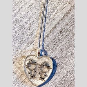 Jewelry - Mom of Boys Heart Pendant Necklace